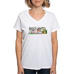 Velma Melmac Women's V-Neck T-Shirt