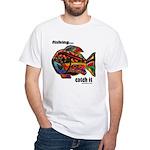 Men's Funny Fishing Men's Classic T-Shirts