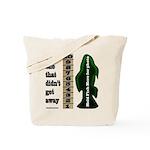 Men's Funny Fishing Tote Bag