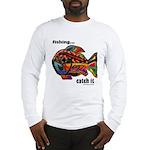 Men's Funny Fishing Long Sleeve T-Shirt