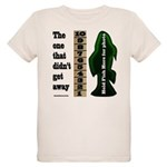 Men's Funny Fishing Organic Kids T-Shirt