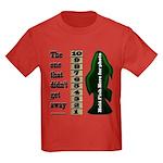 Men's Funny Fishing Kids Dark T-Shirt