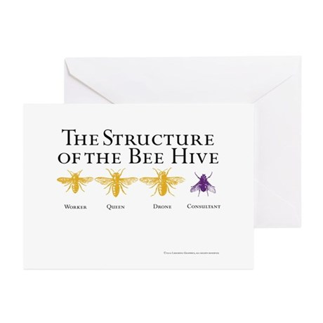 The Hive Greeting Cards (Pk of 10)