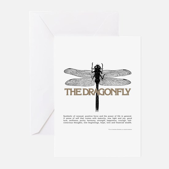Dragonfly Greeting Cards (Pk of 10)