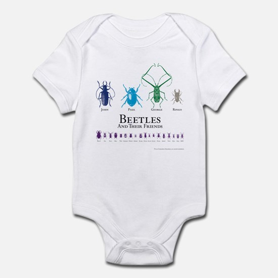Beetles Infant Bodysuit