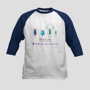 Beetles Kids Baseball Jersey