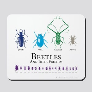 Beetles Mousepad