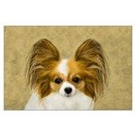 Papillon Large Poster