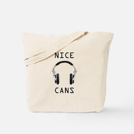 Cute Recording engineer Tote Bag