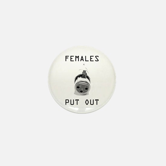 Funny Stage hand Mini Button (10 pack)
