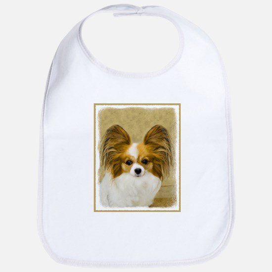 Papillon Cotton Baby Bib