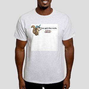 I've got the nuts. Ash Grey T-Shirt