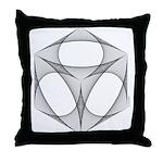 Curve-stitch Design Throw Pillow