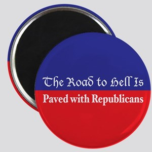 Road to Hell Magnet