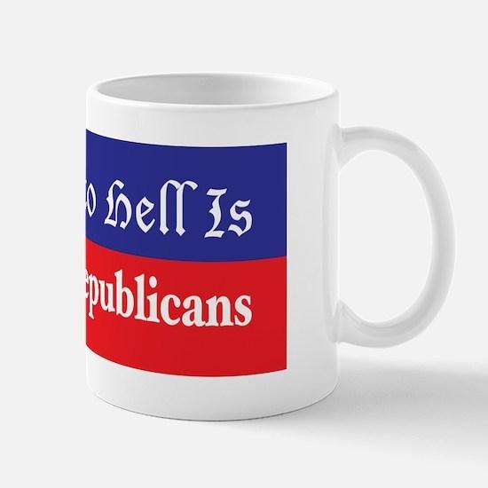 Road to Hell Mug