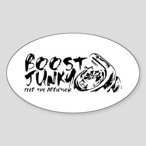 Boost Junky Sticker (Oval)