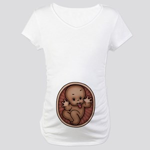 Razz Baby -DS Maternity T-Shirt