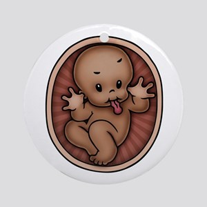 Razz Baby -DS Ornament (Round)