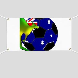 Australia Soccer Banner