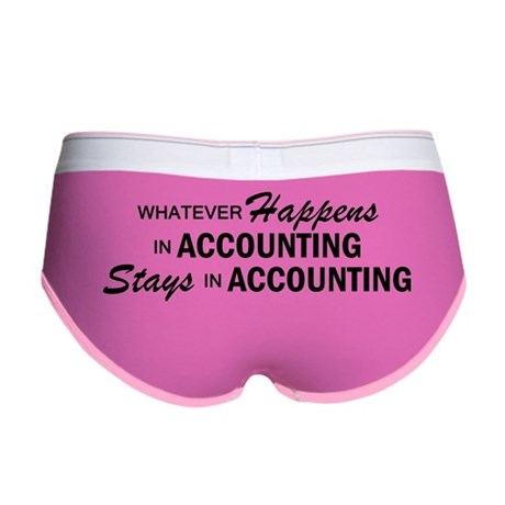 Whatever Happens - Accounting Women's Boy Brief