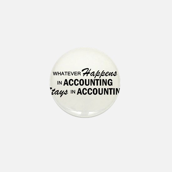 Whatever Happens - Accounting Mini Button
