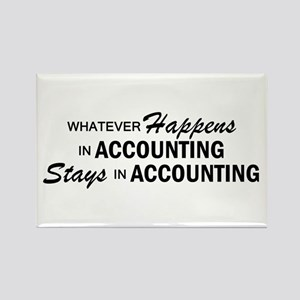 Whatever Happens - Accounting Rectangle Magnet