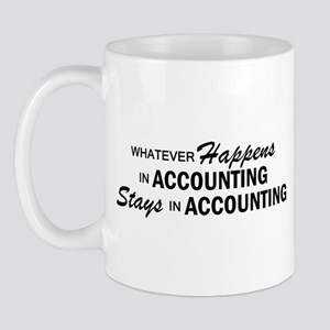 Whatever Happens - Accounting Mug