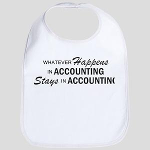 Whatever Happens - Accounting Bib