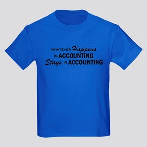 Whatever Happens - Accounting Kids Dark T-Shirt