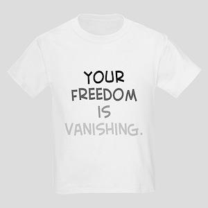 freedom vanishing Kids Light T-Shirt