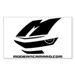 Icon Logo Rectangle Sticker (10 Pack)