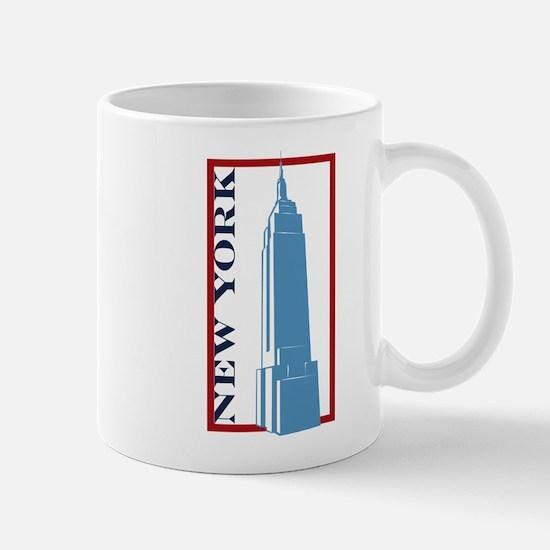 New York Empire State Building Mug