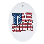 Tax Soda! Ornament (Oval)