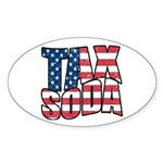 Tax Soda! Sticker (Oval 10 pk)