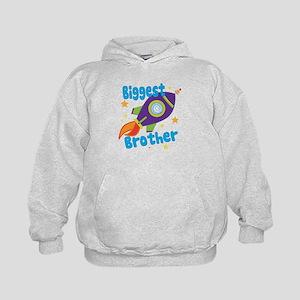 Biggest Brother Rocket Kids Hoodie