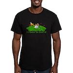 JRT The Pro Golfer Men's Fitted T-Shirt (dark)