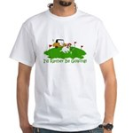 JRT The Pro Golfer White T-Shirt