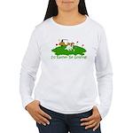 JRT The Pro Golfer Women's Long Sleeve T-Shirt