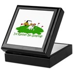 JRT The Pro Golfer Keepsake Box