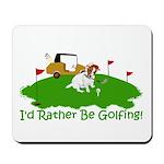 JRT The Pro Golfer Mousepad