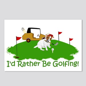 JRT The Pro Golfer Postcards (Package of 8)