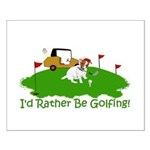 JRT The Pro Golfer Small Poster