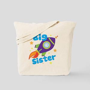 Big Sister Rocket Tote Bag