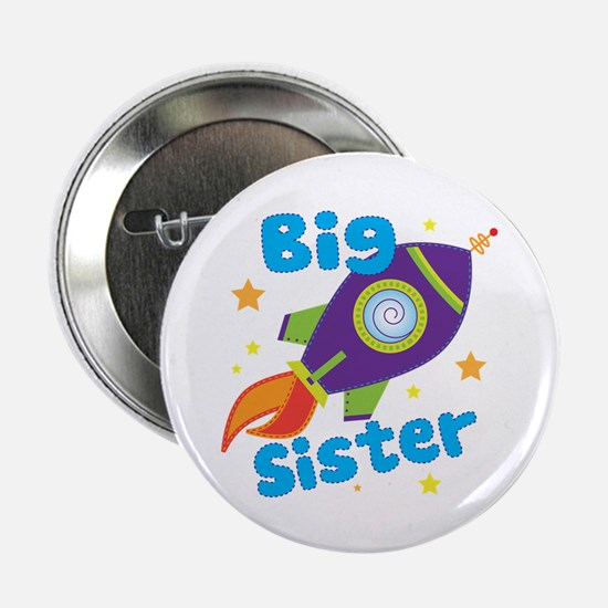 "Big Sister Rocket 2.25"" Button"