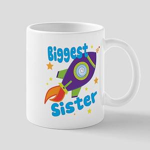 Biggest Sister Rocket Mug