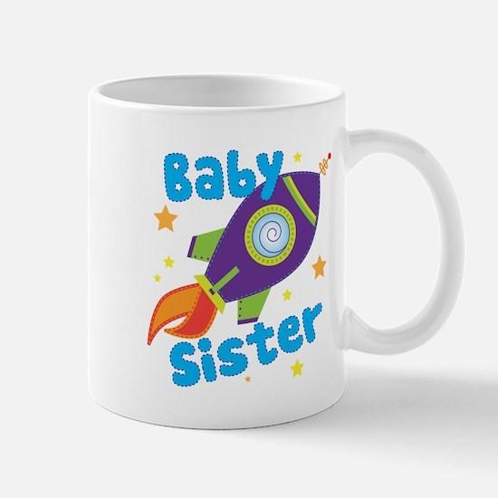 Baby Sister Rocket Mug