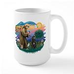 St Francis #2/ Bouvier Large Mug