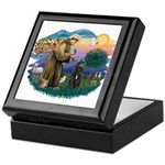 St Francis #2/ Bouvier Keepsake Box