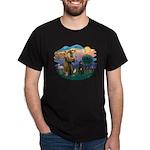 St Francis #2/ Bouvier Dark T-Shirt