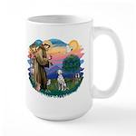 St Francis #2/ Dalmatian Large Mug